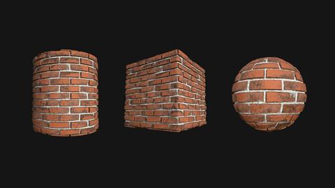 Stylized Wall 8 PBR Texture