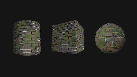 Stylized Wall 13 PBR Texture