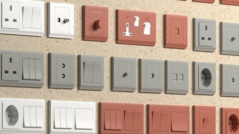 40 sockets & switches - Retrotouch Simplicity Socketes