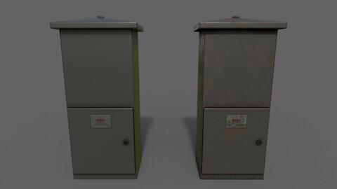 PBR Electric Box (Black) Ver.4