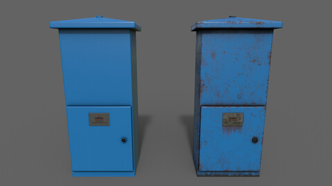 PBR Electric Box (Blue) Ver.4