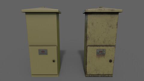 PBR Electric Box (Brown) Ver.4