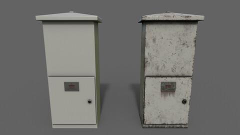 PBR Electric Box (LightGrey) Ver.4
