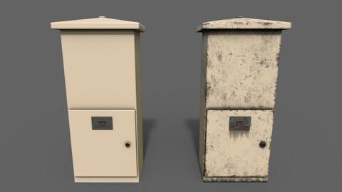 PBR Electric Box (BoneWhite) Ver.4