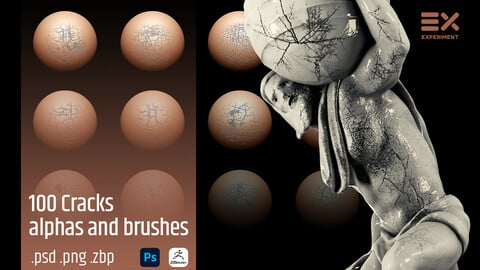 100 Cracks Alphas and Brushes