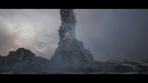 Volcano Effects Environment