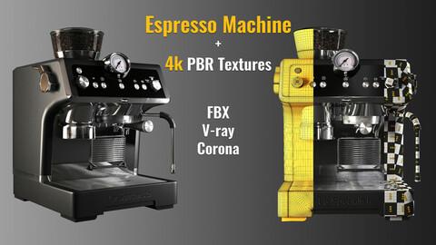 La Specialista Espresso Machine +4k PBR textures