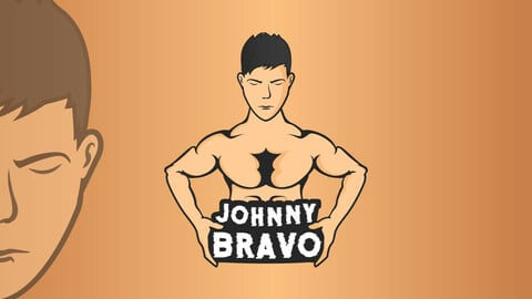 Muscle Guy E Sports / Mascot Logo ( Original Idea )