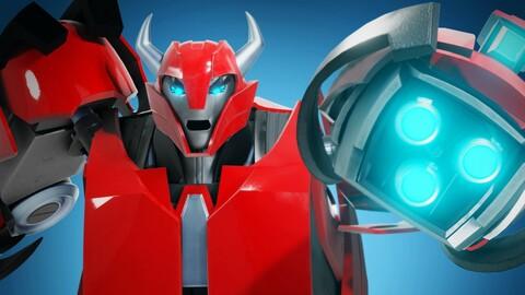 Cliffjumper Transformers Prime 3D Character Rig