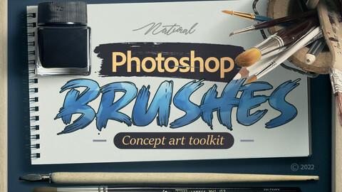 Photoshop Illustration Brushes Kit (2022)