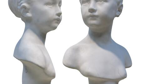 358 Plaster bust of Louise Bronyard