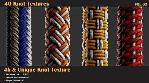 40 Tileable Knot Pattern - VOL 02