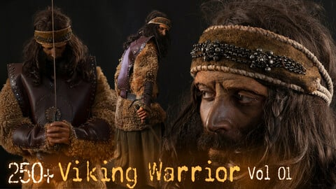250+ Viking Warrior Reference pictures VOL 1