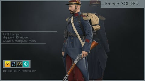 FRENCH SOLDIER