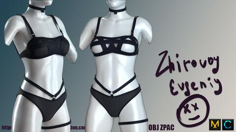 Black Women's Underwear