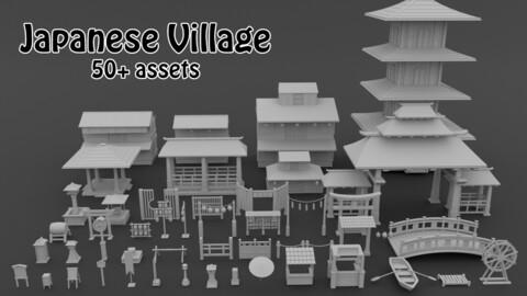 Japanese Village Pack