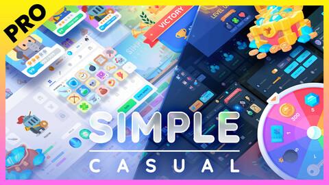 GUI PRO Kit - Simple Casual