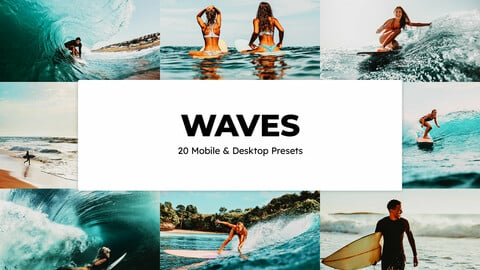 20 Waves LUTs and Lightroom Presets