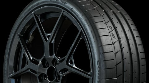 Continental Extreme Contact Sport 235/35 ZR19 91Y (Real World Details)