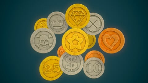 Simple Coins Pack