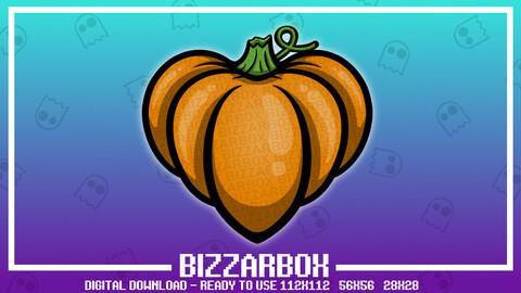 Twitch Emote: Pumpkin Heart