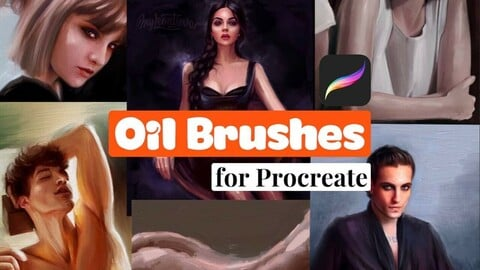 Oil brushset for Procreate