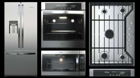 Whirlpool kitchen appliances collection