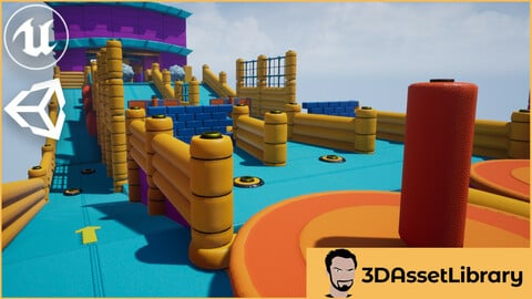 Fun Obstacle Course Vol 1 For Unreal And Unity