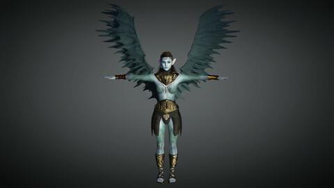 Fantasy Female Character 09 ( The Avatar )