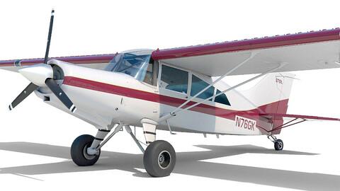 Light Airplane Maule interior