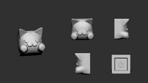 keycap of cat