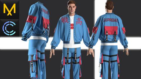 New concept Marvelous Clo3D Outfit Male # 17