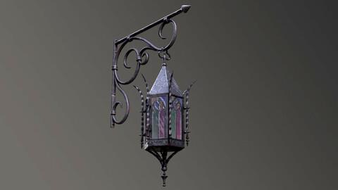 Gothic Street Lantern