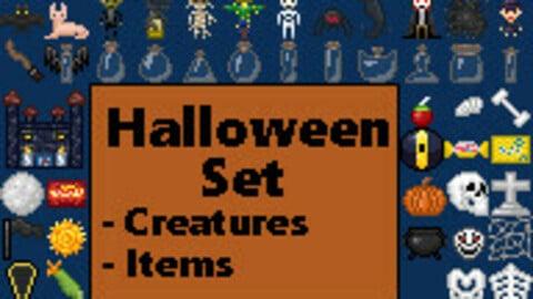 Pixel Art Halloween Set [16x16]