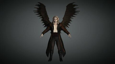 Fantasy Male Character 08 ( The Vampire )