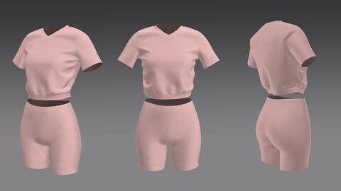Сotton set - T-shirt and shorts Marvelous Clo