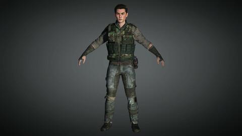 Apocalypse Male Character 02