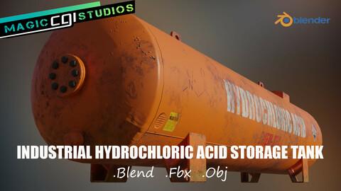 Industrial Hydrochloric Acid Storage Tank