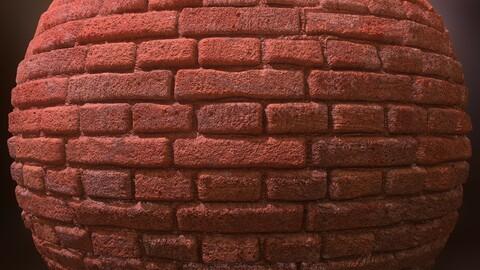 Brick Wall Material - Substance Designer