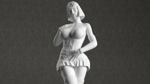 Woman 3d printable model