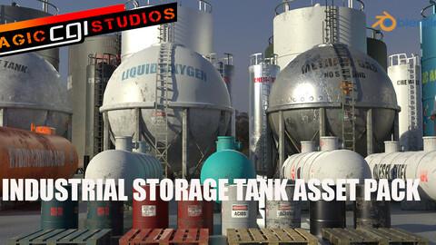 Industrial Storage Tank Asset Pack