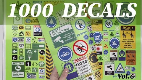 1000 Decals vol.6