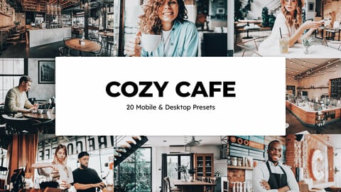 20 Cozy Cafe LUTs and Lightroom Presets