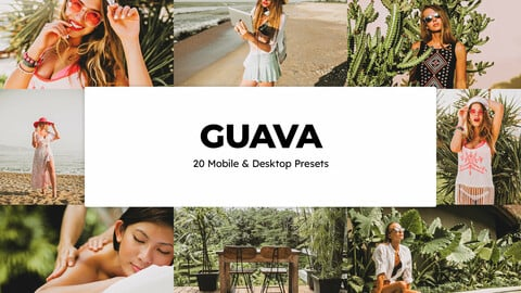 20 Guava LUTs and Lightroom Presets