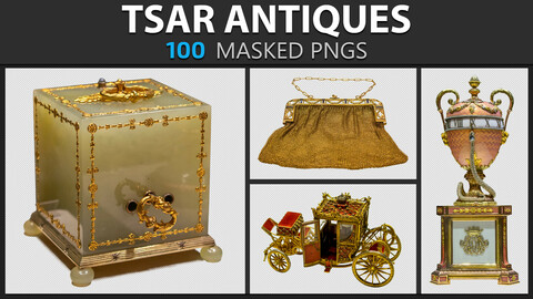 Tsar Antiques - Masked PNGS