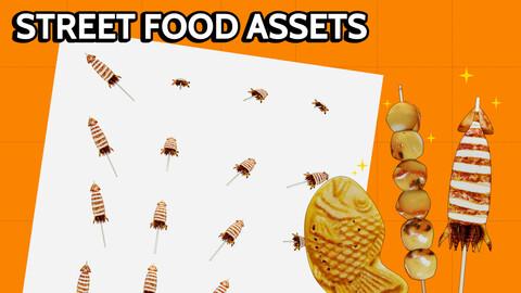 STREET FOOD ASSETS #1
