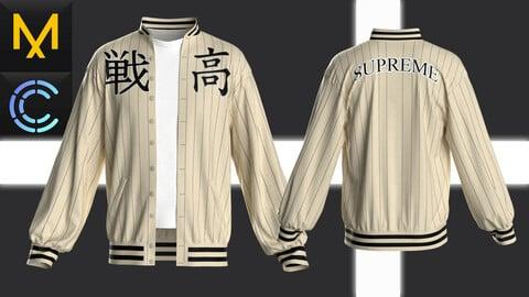 New concept Marvelous Clo3D Jacket Male