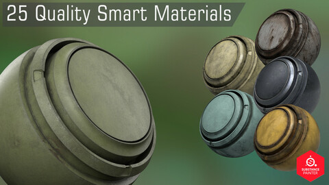 25 Quality Smart Materials