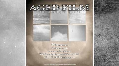Mister Whiskers' Aged Film of Ancient Skies - vintage overlays