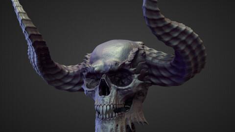 HEAD13 high poly sculpt